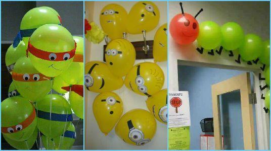 ideas para decorar una fiesta infantil con globos decorations per pinterest el globo globo y grupo de
