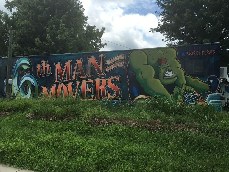What a giant green man dunking a basketball has to do with moving your stuff, I'm not sure. Frankly, I'd rather my movers not slam dunk my possessions, but treat them gently. A first on…