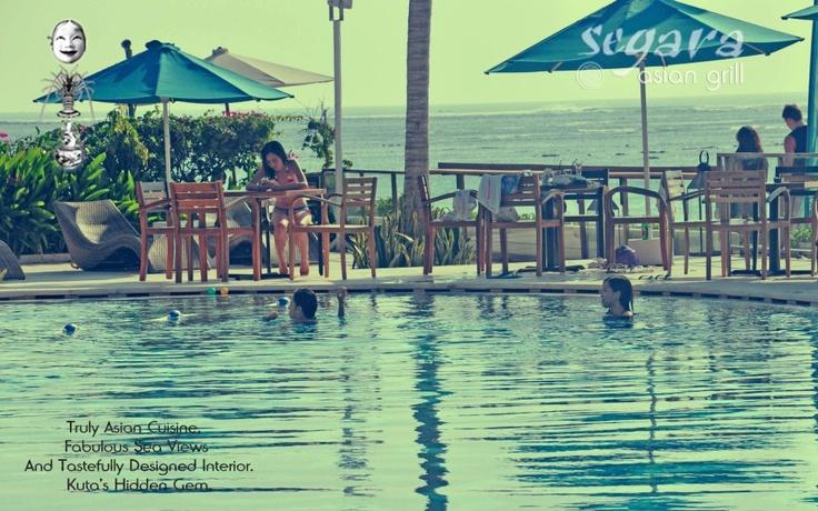 Segara Asian Grill Located beach front next to Discovery Kartika Plaza Hotel Jl Kartika Plaza, kuta Bali 80361 Indonesia phone : +62 361 769 755 email : reservation@segaraasian.com www.segaraasian.com https://www.facebook.com/SegaraAsian http://www.youtube.com/watch?v=3Gwmrl4mjus Google+ : SegaraAsian Grill Twitter : @SegaraAsianGrill