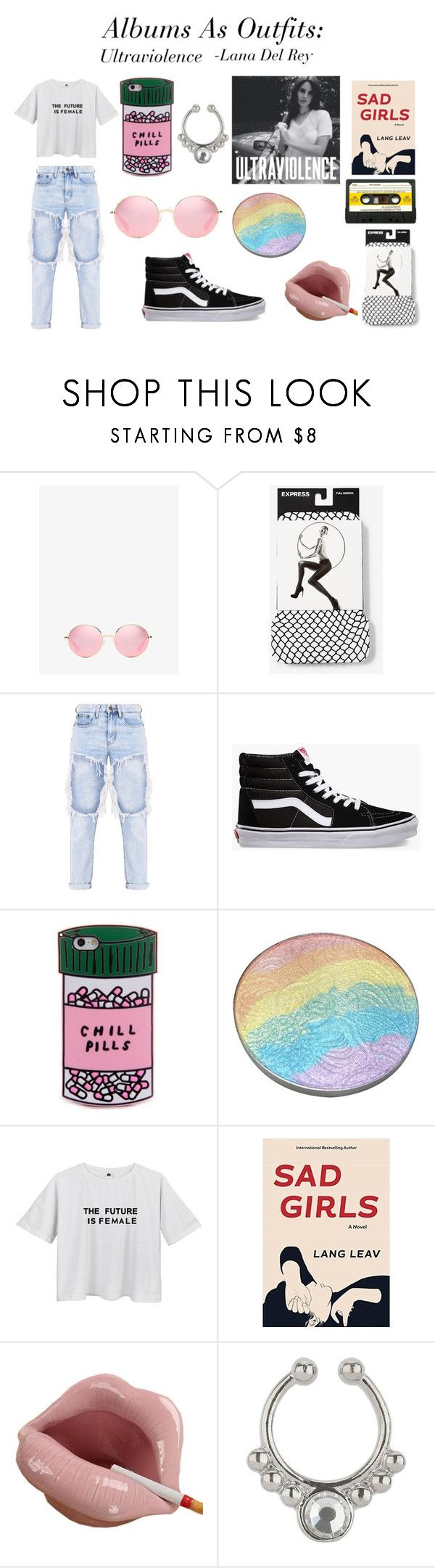 """Albums As Outfits: Ultraviolence"" by graceedonnelly ❤ liked on Polyvore featuring Michael Kors, Express, Vans, Miss Selfridge, lanadelrey, polyvoreeditorial, sadgirl and UltraViolence"