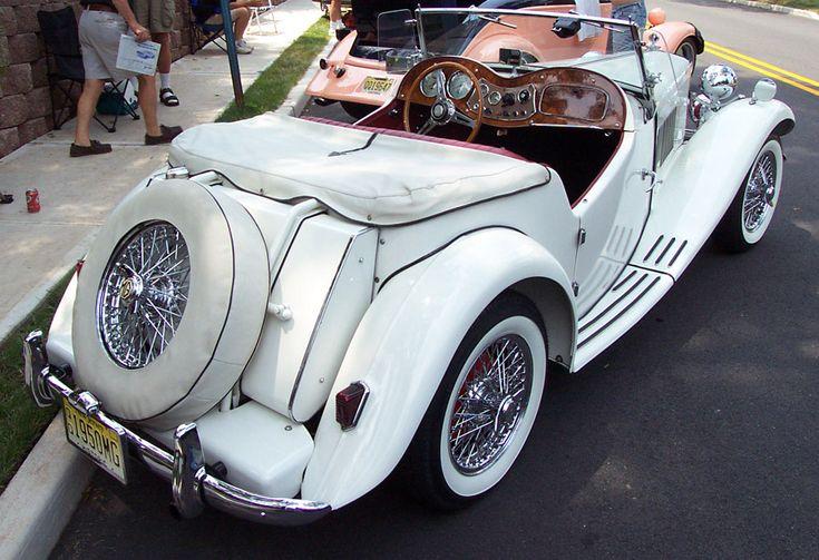 1954 MG TD   Mark ll White