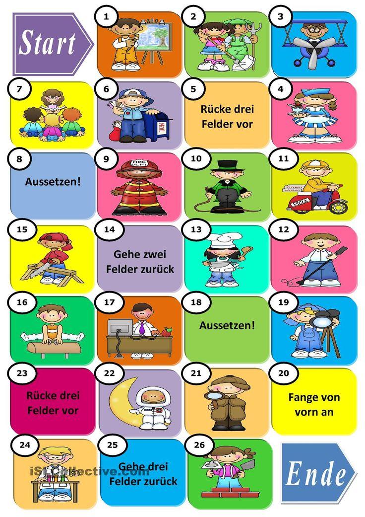 89 besten Berufe Bilder auf Pinterest | Deutsch lernen, Sprachen und ...