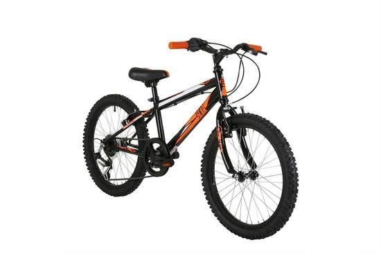 Freespirit Scar Black Junior Boys Mountain Bike, 6 Speed - 11