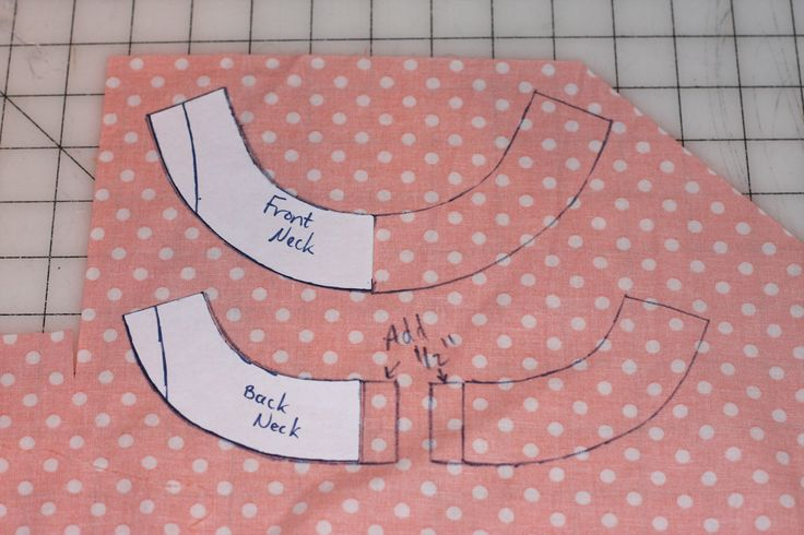 Climbing the Willow: tutorial - adding facings to an aline dress