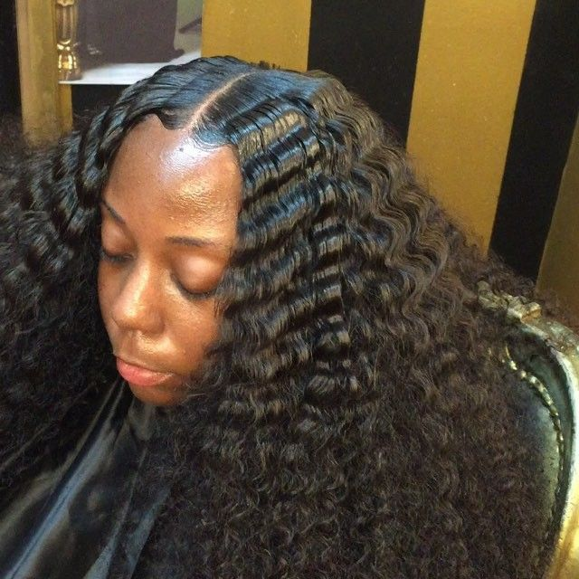 weaved hair styles best 25 curly hair sew in ideas on sew in 3181 | 64a947c3181a99115c094bfd3ada1c81 tossed hairstyle ideas