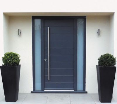 M s de 25 ideas incre bles sobre puertas de aluminio for Puertas vaiven modernas