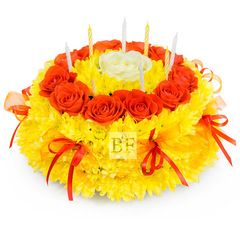 """Букет на день рождения """"Торт"""""""