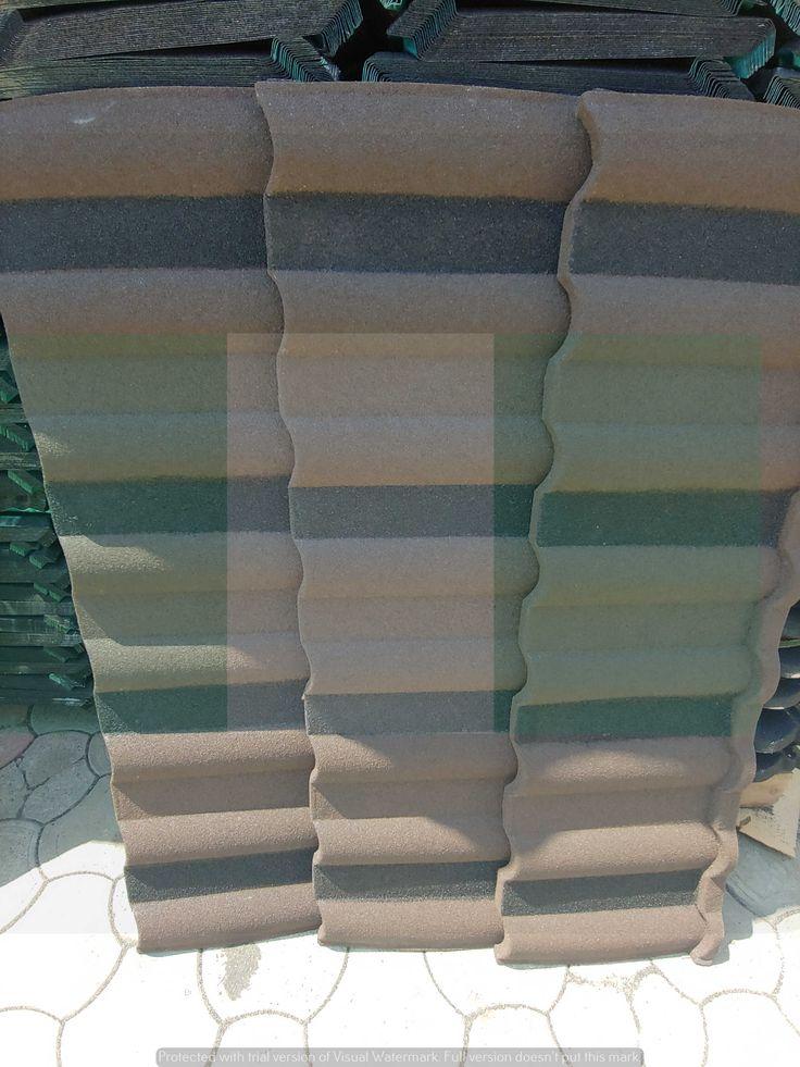Waji Korea Brown milano new zealand stone coated roof