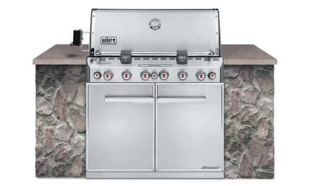 Top 10 Gas Grill Inserts under $4,000: Weber Summit S-660 Gas Grill Insert