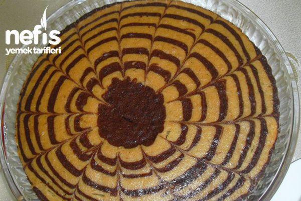 Ebruli Kek Yapımı