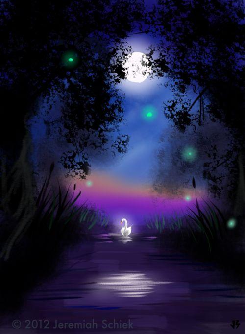 J. Schiek    ....<3: Fantasy, Fairies, Color, Beautiful, Absolutely Beautiful, Artists Illustrations Design, I M Pretty, Blue Moon, Earth Ii