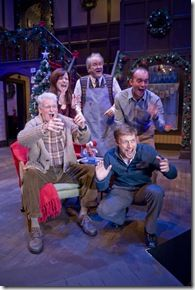 Harvey, Belinda, Bernard, Eddie, and Neville - Season's Greetings - Northlight Theatre