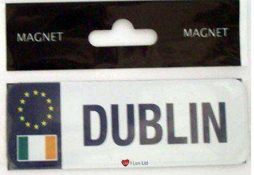 Dublin Strip Magnet  http://iluvscotland.co.uk/dublin-strip-magnet  £4.99