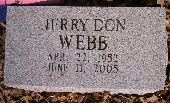 WEBB___Jerry Don Webb (1952-2005)