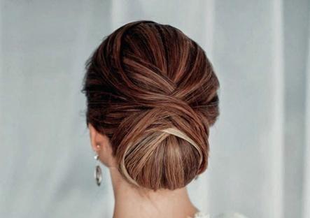 formal hair chignon