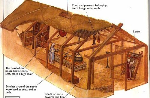 Viking-Longhouse