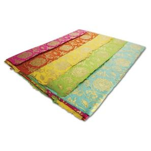 Bright Lotus Handmade Lokat Paper set of 5 sheets 50x70cm, currently AU$24.95 + postage per set from Oxfamshop (AU) #giftwrap #wrappingpaper #handmade #Oxfam #fairtrade