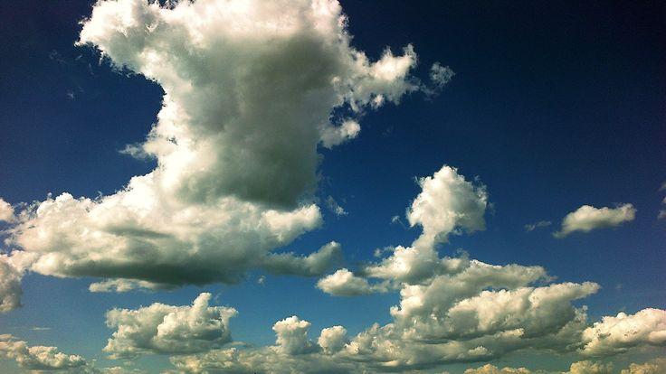 bárány felhők