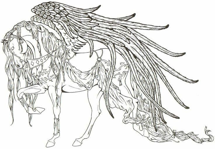 Pegasus coloring pinterest pegasus and art for Coloring pages of pegasus