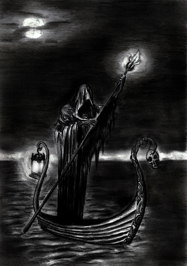 Charon, Son of Night and Shadow, Ferrier of the Dead