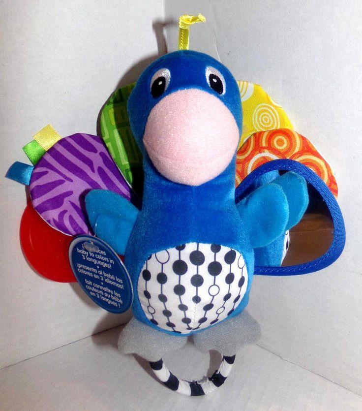 Peacock Baby Einstein Crib Toy : Baby einstein plush peacock stuffed animal crib toy world