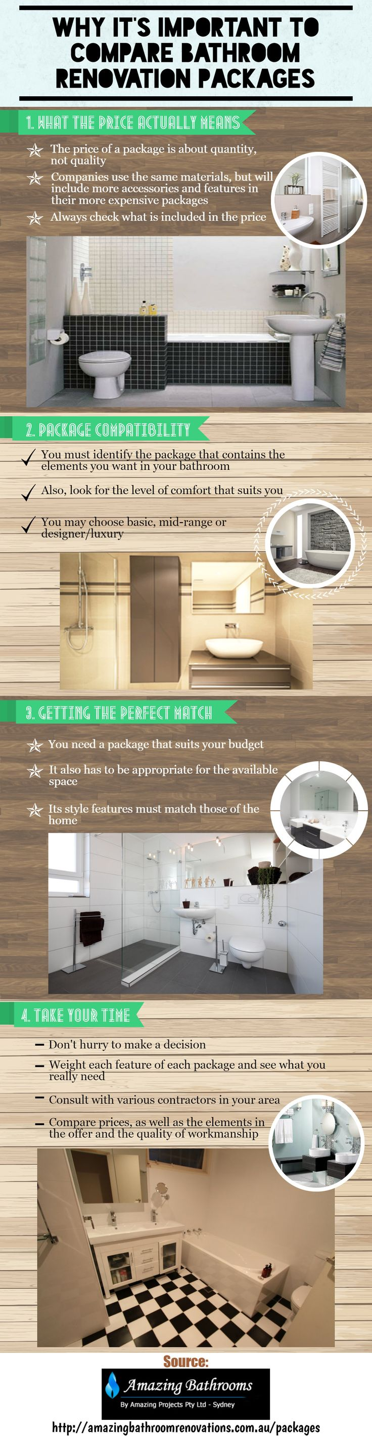 In fact, with modern day tools and a few smart ideas you can cut back on your remodeling time majorly. You can also ensure that your Bathroom Renovations Sydney (http://amazingbathroomrenovations.com.au/) project has a better finish at the end of all your efforts.