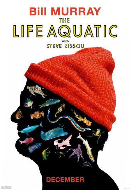 film aquaticClassic Movie, Film Festivals, Festivals Posters, Bill Murray, Wes Anderson, The Life Aquatic, Posters Design, Steve Zissou, Film Posters