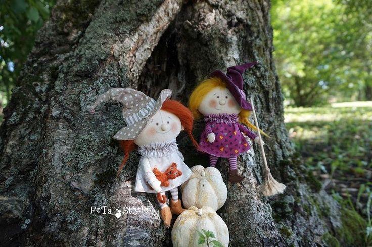 Две подружки-хохотушки - Ярмарка Мастеров - ручная работа, handmade