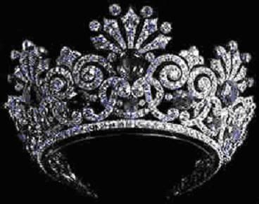 Sapphire tiara: One of many tiaras belonging to the Russian Imperial Family Jewels