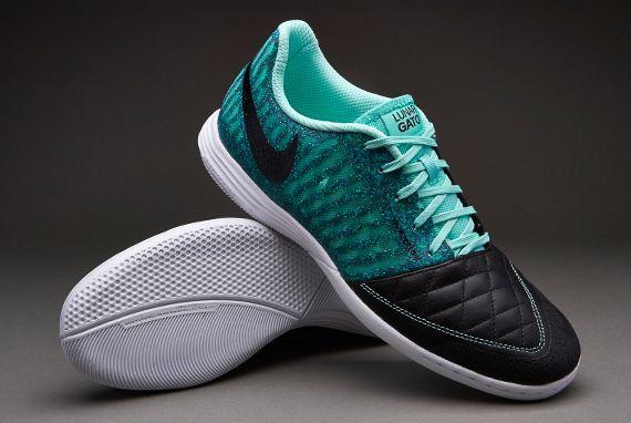 Sepatu Futsal Nike Lunargato II Black Hyper Turqoise