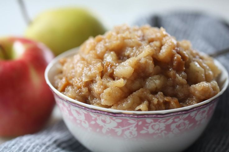 Ginger apple-pear sauce--- great for gut-healing as it's high in soluable fiber