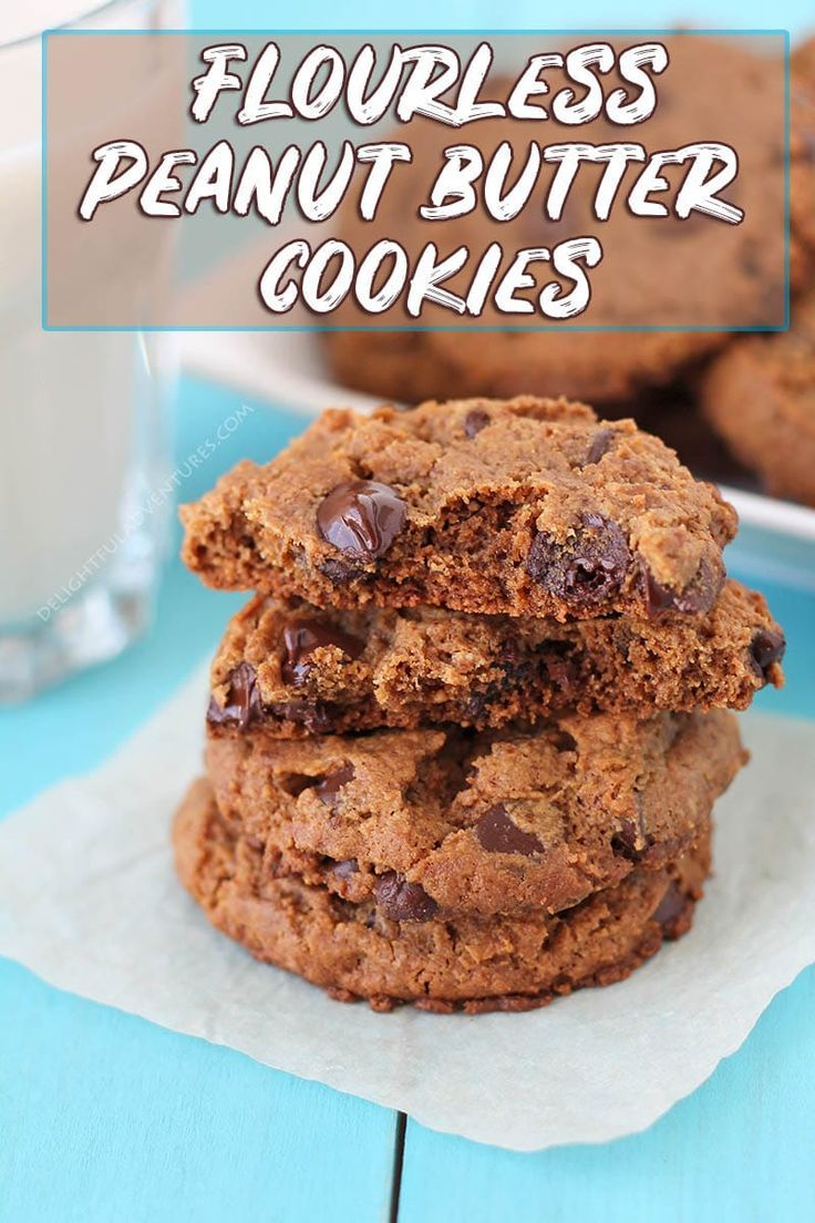 Vegan Peanut Butter Chocolate Chip Cookies Recipe Vegan Cookies Recipes Gluten Free Peanut Butter Cookies Gluten Free Peanut Butter Cookies Recipe