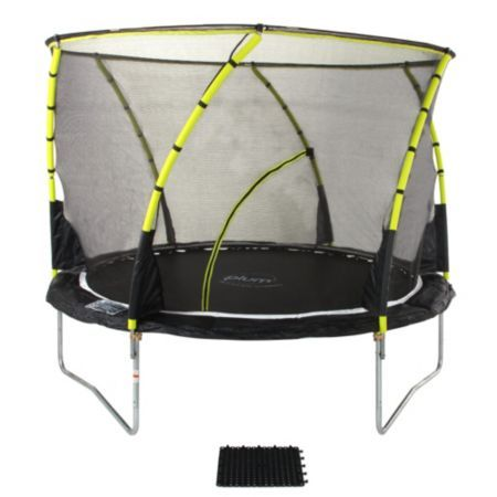 Plum Whirlwind 8 ft Trampoline & Enclosure: Image 1