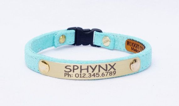 Hey, I found this really awesome Etsy listing at https://www.etsy.com/listing/233842437/personalized-suede-cute-cat-collar-with
