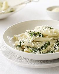 Spinach and Ricotta Pappardelle Recipe on Food & Wine