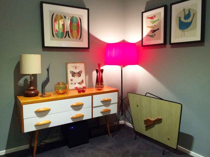 CORINA TAYLOR: This is my favorite piece, my retro sideboard. #ClassicBuilders #Competitions