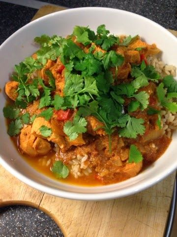 I'm really impressed by the new Slimming World ready meals and especially loved the Chicken tikka masala so thought would give it a go using...