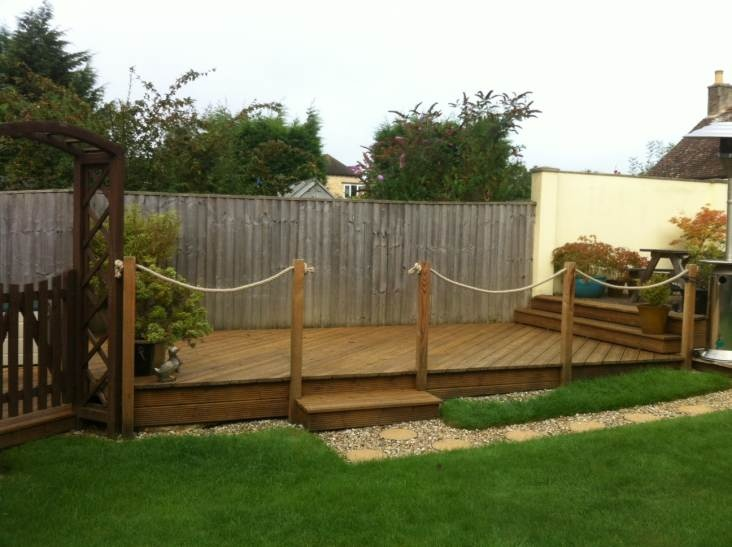 de 46 b sta garden ideas bilderna p pinterest hem och On garden decking hinckley