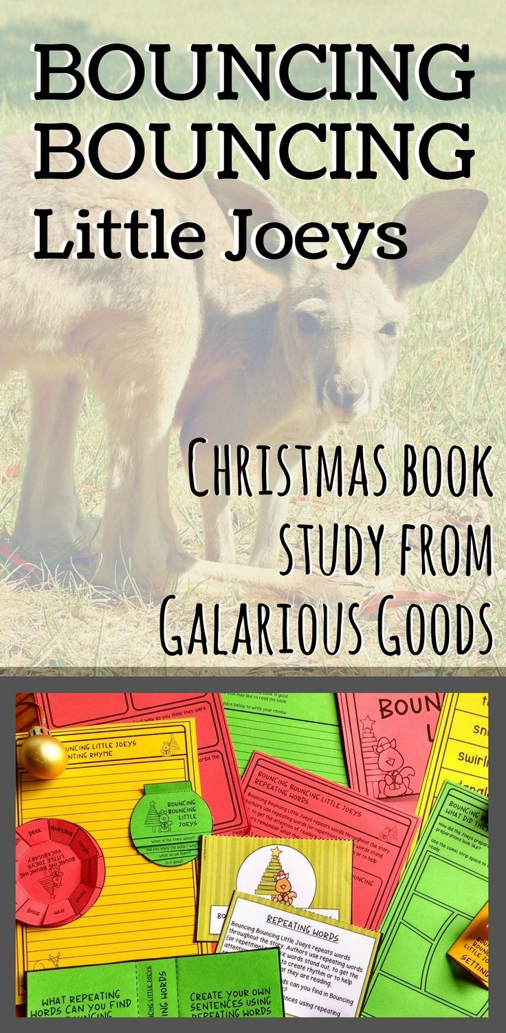 Australian Christmas Book Study for your classroom. Teach Bouncing Bouncing Little Joeys to your Year 3, Year 4 and Year 5 students looking at reading comprehension, vocabulary, reader response and creative activities #australianchristmas #bushchristmas #christmasbook #picturebooks #bookstudy #teachingchristmas #christmasintheclassroom