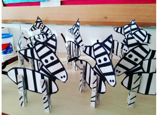 zebra craft  |   Crafts and Worksheets for Preschool,Toddler and Kindergarten