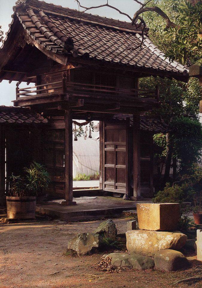 Tenmangu near Kyoto: 17th-century house
