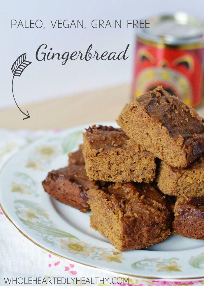 Recipe: Gingerbread (Paleo, Vegan, Grain Free)