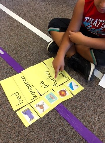 This set has 80 pictures and matching word cards for you to create sets for your students.  After the students match the word to the picture based on initial letter, they read the cards to themselves, a teacher, or another student.  ($)
