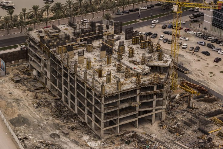 Construction Site in progress by Hussein Al Najjar on 500px