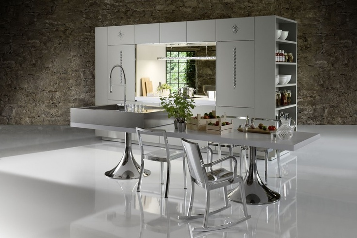 Luxurious Dining Room kitchen