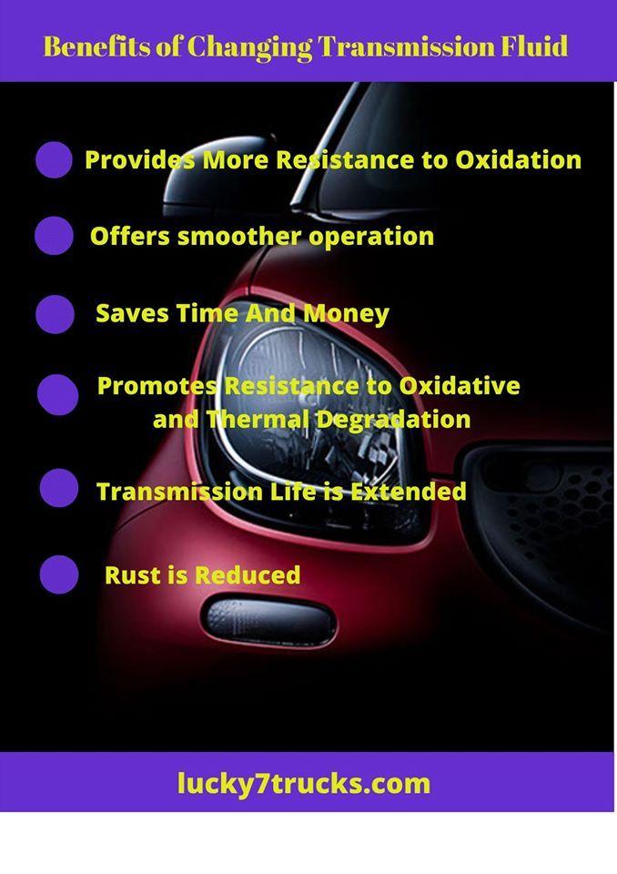 Benefits Of Changing Transmission Fluid Automatic Transmission Fluid Transmission Repair Transmission
