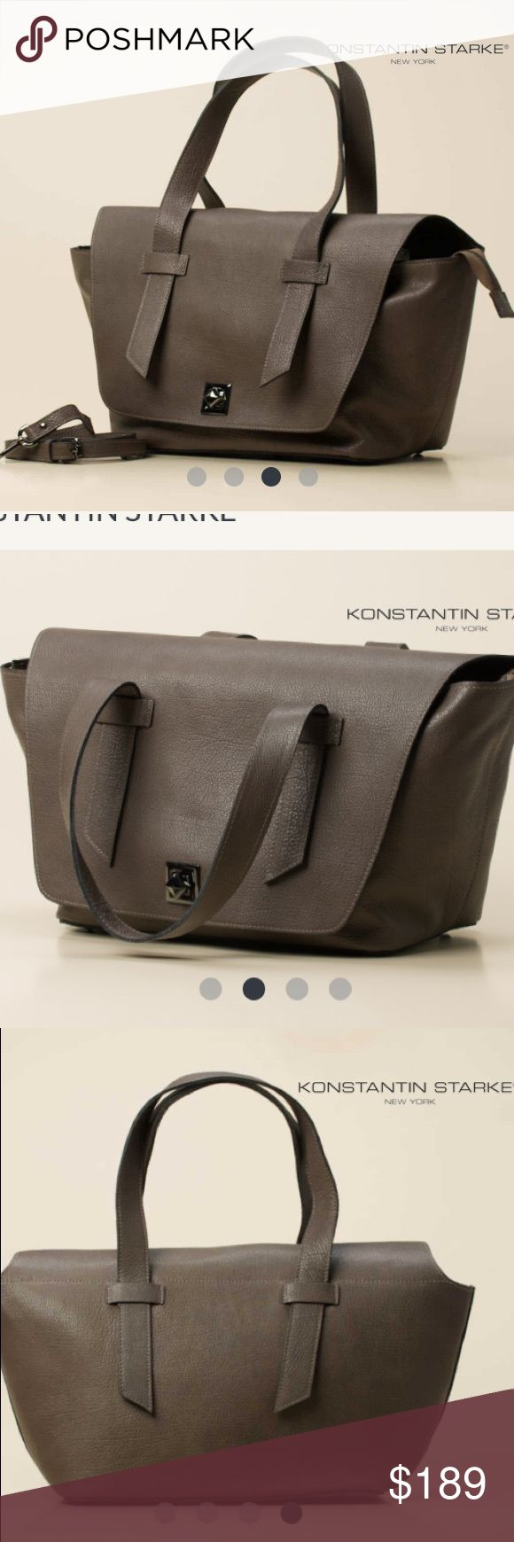 Konstantin Starke Taupe Handbag Bought in Munich and have