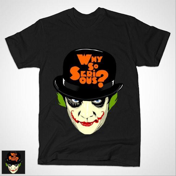 A CLOCKWORK JOKER T-Shirt - Joker T-Shirt is $14 today at TeePublic!