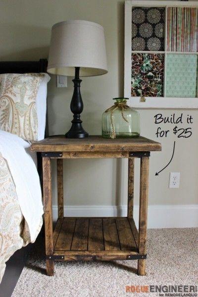 Rustic Bedroom Furniture Diy best 20+ farmhouse furniture ideas on pinterest | half bathroom