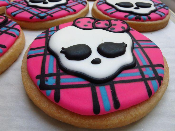 Monster High Cookies www.sweetbeantreats.com